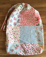 Cath Kidston x Patchwork Drawstring Bedding Dust Bag cotton Fabric New p