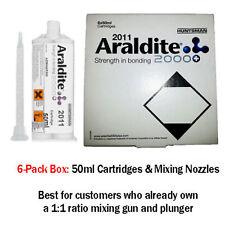 Araldite 2011 Slow-Set All-Purpose Epoxy-50ml 6-Pack