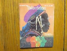 October 12, 1986 Detroit News Television Magazine(THE AFRICANS/DR. ALI A. MAZRUI