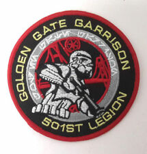 "Star Wars 501st Golden Gate Garrison Patch- 3.5""- Mailed from USA (SWPA-KL-19)"