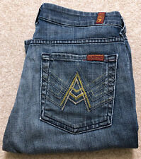7 for All Mankind Off Register A Pocket New Zealand Medium Wash Flare Jeans 27
