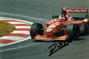 ***  JACQUES VILLENEUVE  -  WILLIAMS / MECACROME  -  SIGNED  -  F1  *** photo