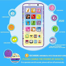 Toy Phone Smart Phone Kids Children  New Educational English Learning Mobile New