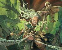 GARRUK 75 Karten BESTIEN Elfen DECK Elves Beast | Sammlung Magic MTG Overrun