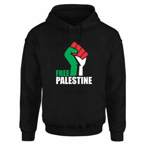 FREE PALESTINE Gaza FREEDOM Mens Womens Adults Top Hoodie Protest Support