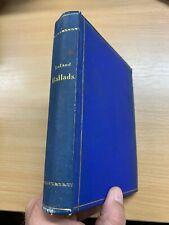 "1876 ""THE BREITMANN BALLADS"" CHARLES G LELAND ANTIQUE HARDBACK BOOK (P4)"
