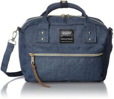 anello Anello 2way Shoulder Bag AT-C1223 DBL Denim Blue With Tracking From Japan