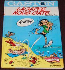 GASTON -8- / Lagaffe nous gâte /Re 1970/ BE+