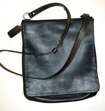 Vtg EUC Unisex Coach Crossbody Messenger Saddle Bag Slim Studio Flap Boho Purse
