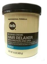 TCB No Base creme Hair Relaxer super mit Protein DNA Haarglättungscreme 425g