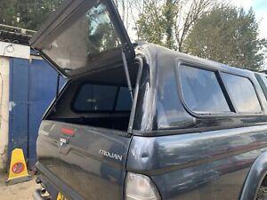 Mitsubishi L200  2.5td Hardtop Canopy Top Cover  K74 1997 - 2006reg Black X08