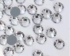 Strass termoadesivi n.250 pz ss6 ~2mm crystal termo adesivi hotfix brillantini