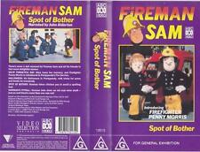FIREMAN SAM SPOT OF BOTHER VHS PAL VIDEO RARE