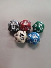 RIVALS OF IXALAN Spindown Dice Complete Set - All 5 Color Dice - D20  MTG Magic