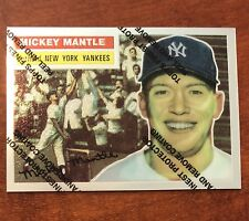 1996 Topps Commemorative Set MICKEY MANTLE New York Yankees 135; 6 of 19