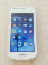 Samsung Galaxy S Duos GT - S7562 used unlocked white phone