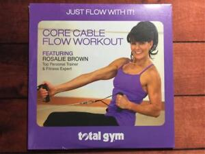 Total Gym Core Cable Flow Workout DVD with Rosalie Brown