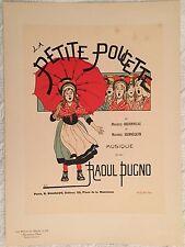"""BOUTET DE MONVEL """"LA PETITE POUCETTE"""" 1898"""