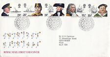 16 JUNE 1982 MARITIME HERITAGE ROYAL MAIL FIRST DAY COVER BUREAU SHS (a)