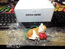 Christmas danbury mint The Baby Animal ornaments Le Nwt Glitter Tiger Cub Box
