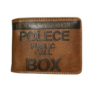 New Doctor Who Wallet Embossed Leather Purse Id Card Holder Coin Pocket