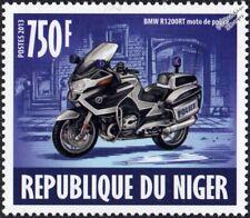 BMW R1200RT Police Motorcycle/Motorbike Emergency Response Vehicle Stamp (2013)