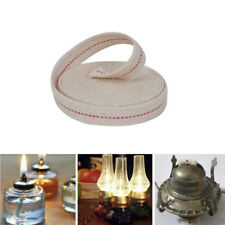 15ft 3/4' Flat Cotton Oil Lamp Wick Roll For Oil Lamps Lanterns Xr