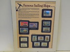 World of Stamp Series - Stamp Tributes to Famous Sailing Ships