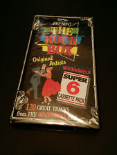 THE ROCK BOX AUSTRALIAN CASSETTE TAPE BOX SET CONCEPT RECORDS 6 X TAPES