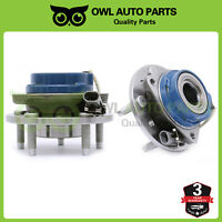 Pair of 2 513137 Front Wheel Bearing Hub for Chevy Malibu Pontiac Grand Am Olds