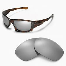 New Walleva Polarized Titanium Replacement Lenses For Oakley Ten Sunglasses