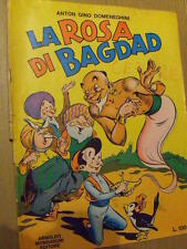 La Rosa di Bagdad Anton Gino Domeneghini ed. Mondadori 1970 disegni di Zamperoni