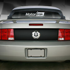 2005-2009 Ford  Mustang Trunk Deck Lid Blackout Decal Stripe 2006 2007 2008 2009