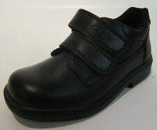 Boys Clarkes - Morecambe - Black Leather School Shoes - 8 F (Younger Boys)