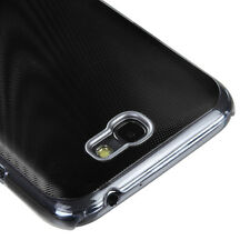 For Samsung Galaxy Note II 2 METAL Cosmo HARD Case Snap On Phone Cover Black