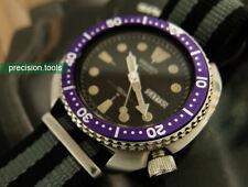 Purple Color Replacement Bezel Insert 0440 For 7S26 Scuba 6309-7040 Cool Parts