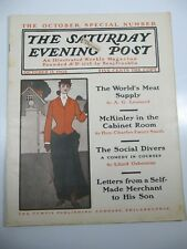 The Saturday Evening Post Magazine- October 11, 1902- Pete Fountain Illustrated