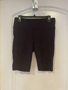 Lululemon Shorts Size 12 Everlux Sweat Wicking Black