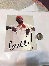 Supreme Sticker Gucci Mane 100% Authentic