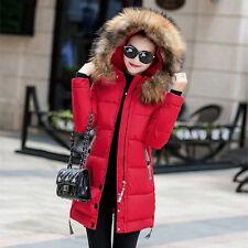 2017 Winter Women Jacket Long Down Jacket Padded Coat Ladies Slim Hooded Parka