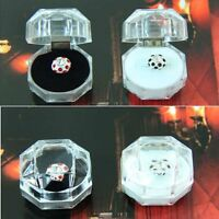 Ring Box Transparent Octagonal Girl Necklace Jewelry Boxes Gift
