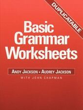 Basic Grammar Worksheets