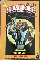 Soulsearchers and Company Volume 1 GN Signed Amanda Conner Peter David OOP NM