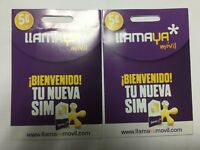 Tarjeta SIM/Micro/Nano Prepago LLAMAYA MOVIL 5€ Saldo!ACTIVADA Y LISTA PARA USAR