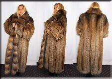 New Cross Fox Fur Coat Size 4 Extra Large 4XL Efurs4less