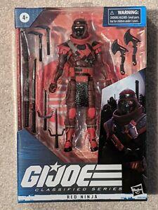 GI Joe Classified Red Ninja 08
