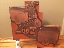 Valmobile  Copper Printed Engraving BLOCK only Dealer one ever made for the U.S