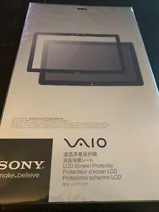 SONY VAIO Tap 20 Dedicated LCD Protector VGP-FLS11 Japan new .