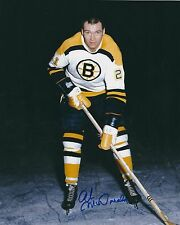 Signed  8x10 AB MCDONALD Boston Bruins Autographed Photo - w/ Show Ticket