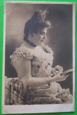 R.TUCK & SONS RP Postcard POSTED 1906 MADAME BELLE COLE